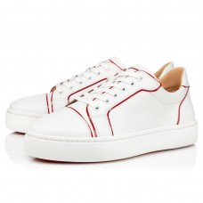 Hot Sale christian louboutin Casual shoes white red