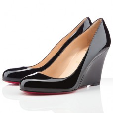 Christian Louboutin Ron Ron Zeppa 80mm Wedges Black