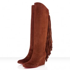Christian Louboutin Pouliche 80mm Boots Brown