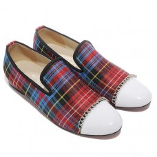 Christian Louboutin Rollergirl Loafers Red