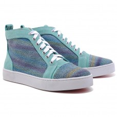 Christian Louboutin Louis Strass Sneakers Multicolor