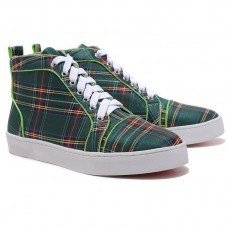 Christian Louboutin Louis TarTaupe Sneakers Green