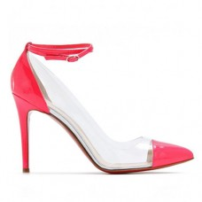 Christian Louboutin Bis Un Bout 100mm Pumps Pink