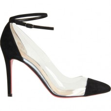 Christian Louboutin Bis Un Bout 100mm Pumps Black
