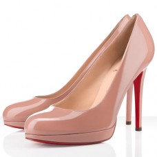 Christian Louboutin New Simple 120mm Pumps Nude