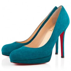 Christian Louboutin New Simple 120mm Pumps Peacock