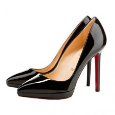 Christian Louboutin Pigalle Plato 120mm Pumps Black