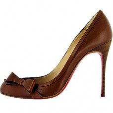 Christian Louboutin Beauty 100mm Pumps Coffee